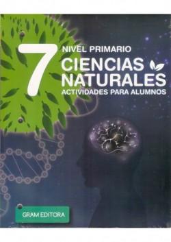 CIENCIAS NATURALES 7 - ALUMNO