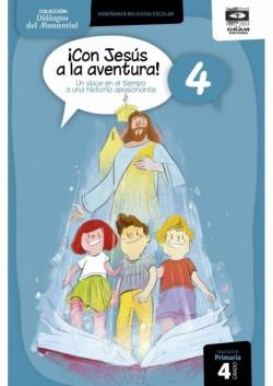 CON JESUS A LA AVENTURA 4 - Guia Docente