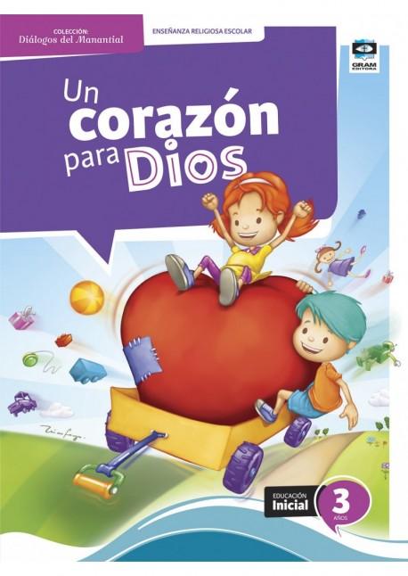 UN CORAZON PARA DIOS 3 ANOS - KIT DOCENTE